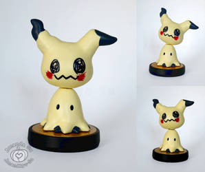 Mimikyu Custom Amiibo (with Poseable Head)