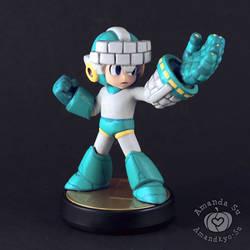 Brick Mega Man Custom Amiibo