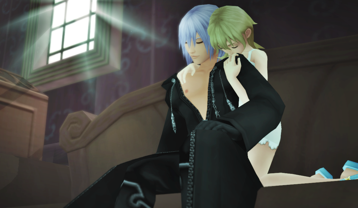 Riku X Namine - Stay with me... by RSunderland
