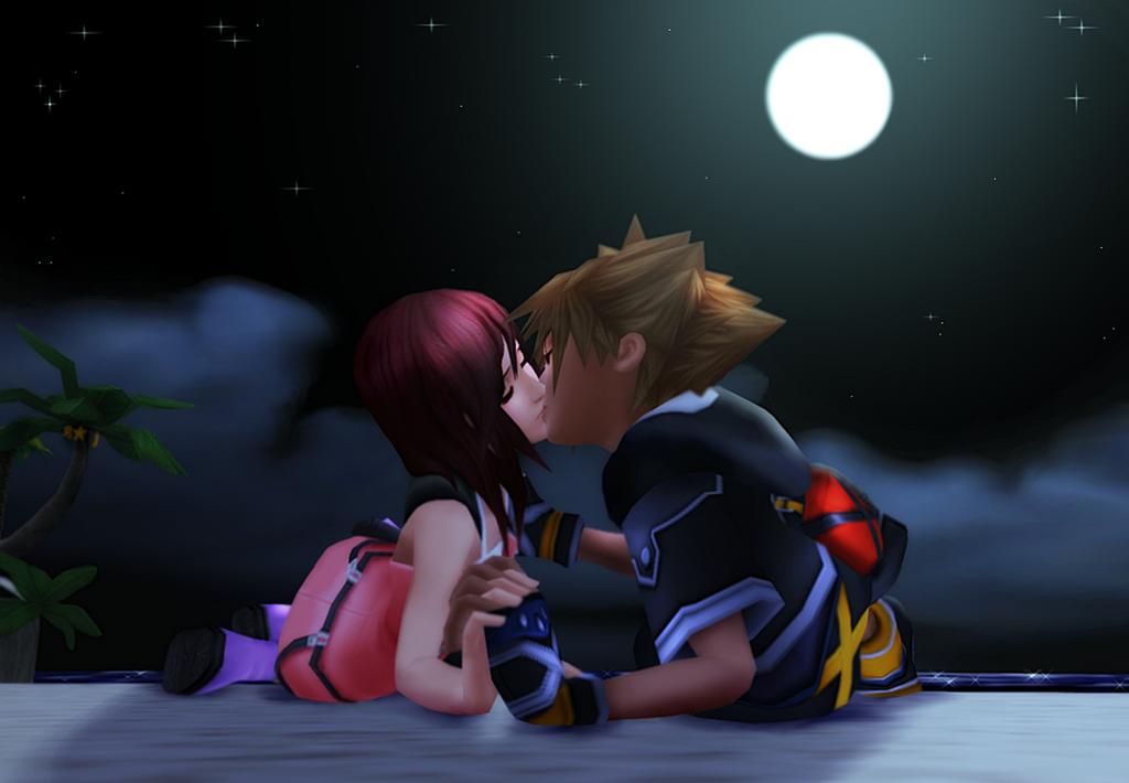 Moonlight Kiss by RSunderland