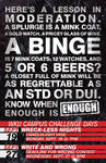 ENOUGH Campus Poster - III