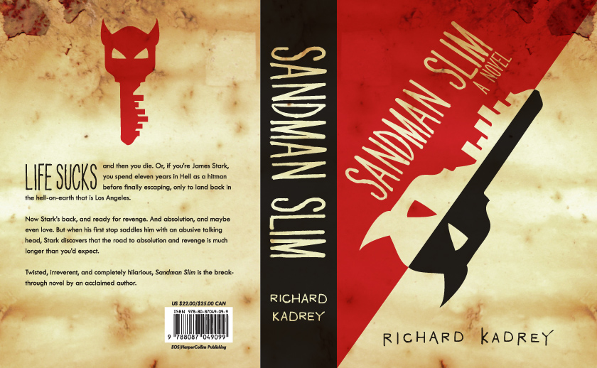 Sandman Slim Cover Redesign by thegreengiant