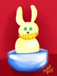 Bunny_Gelato by ResTheRabbit