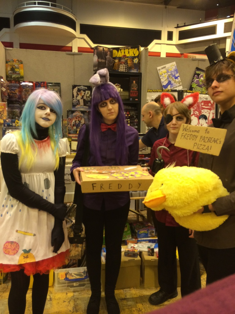 Fnaf and dhmis cosplay by get creative friends on deviantart