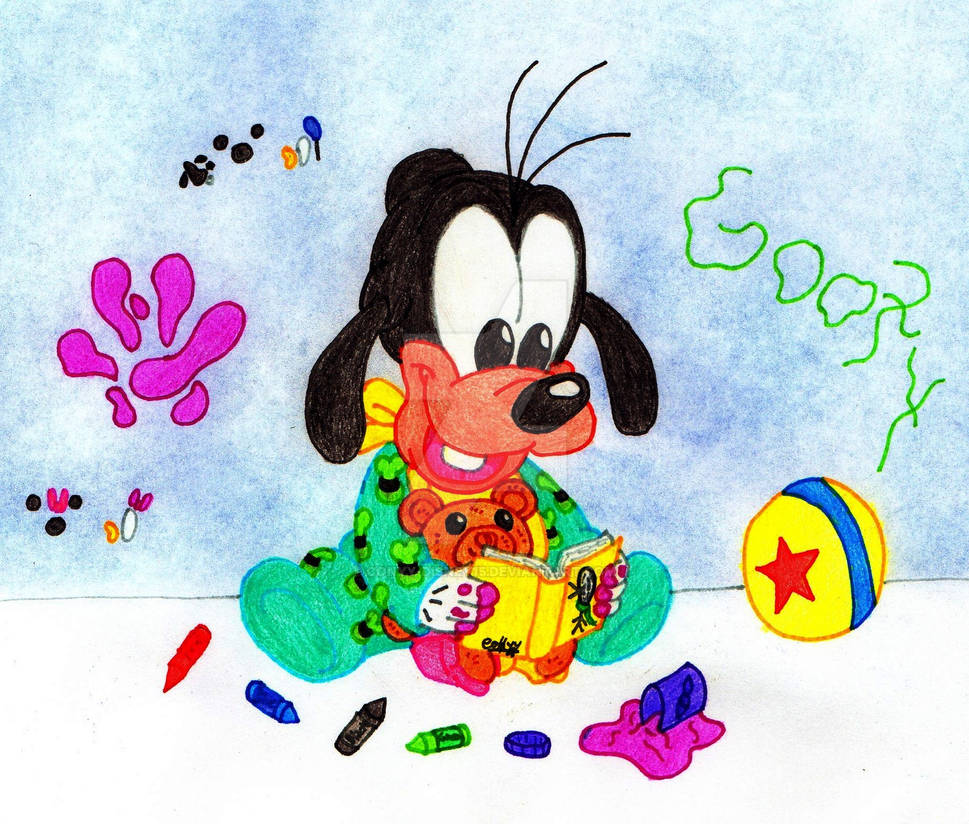 Baby Goofy By Conyy Disney15 On Deviantart