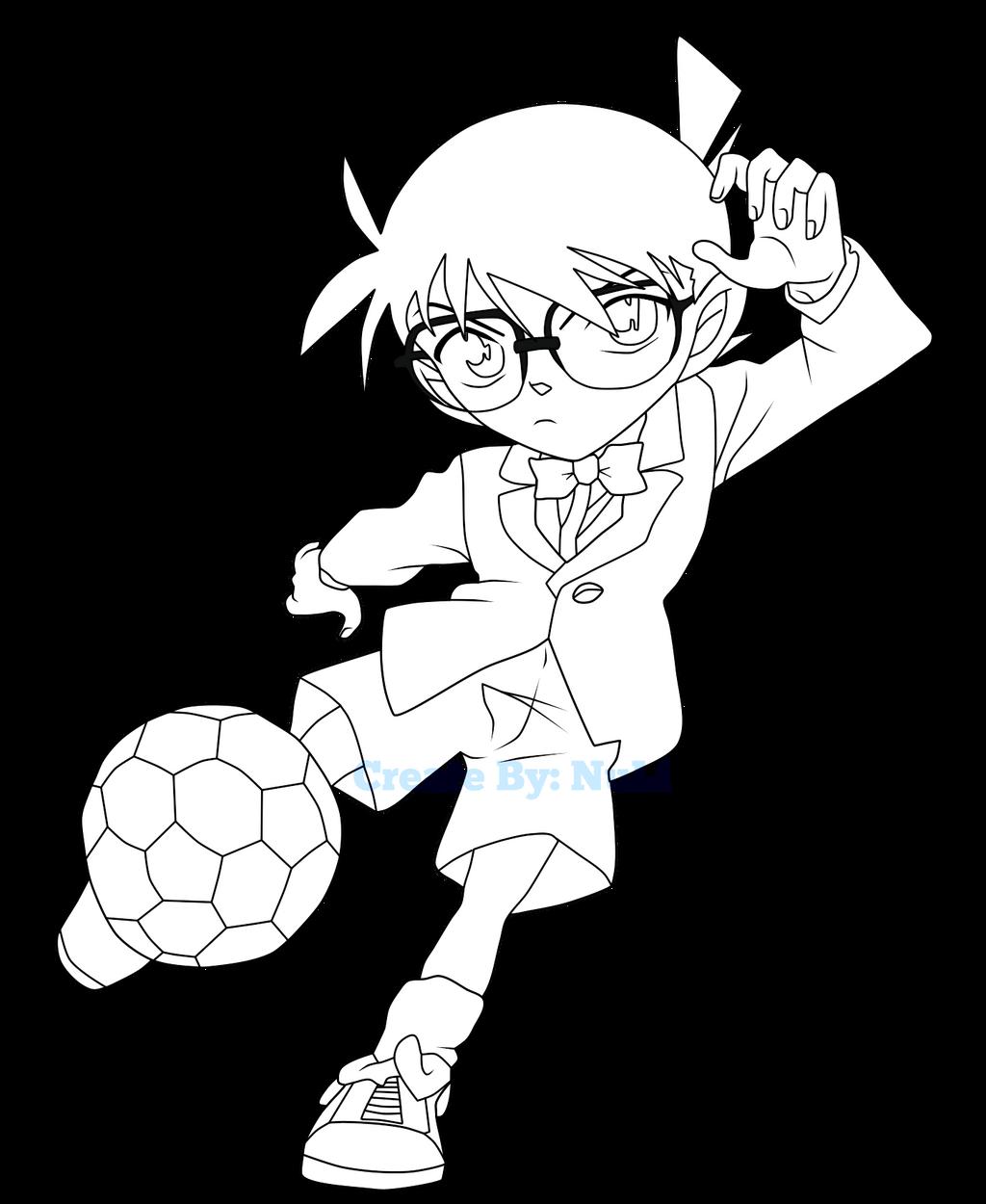 Conan Strike Sketch Ball Kick By Tranexxx On Deviantart