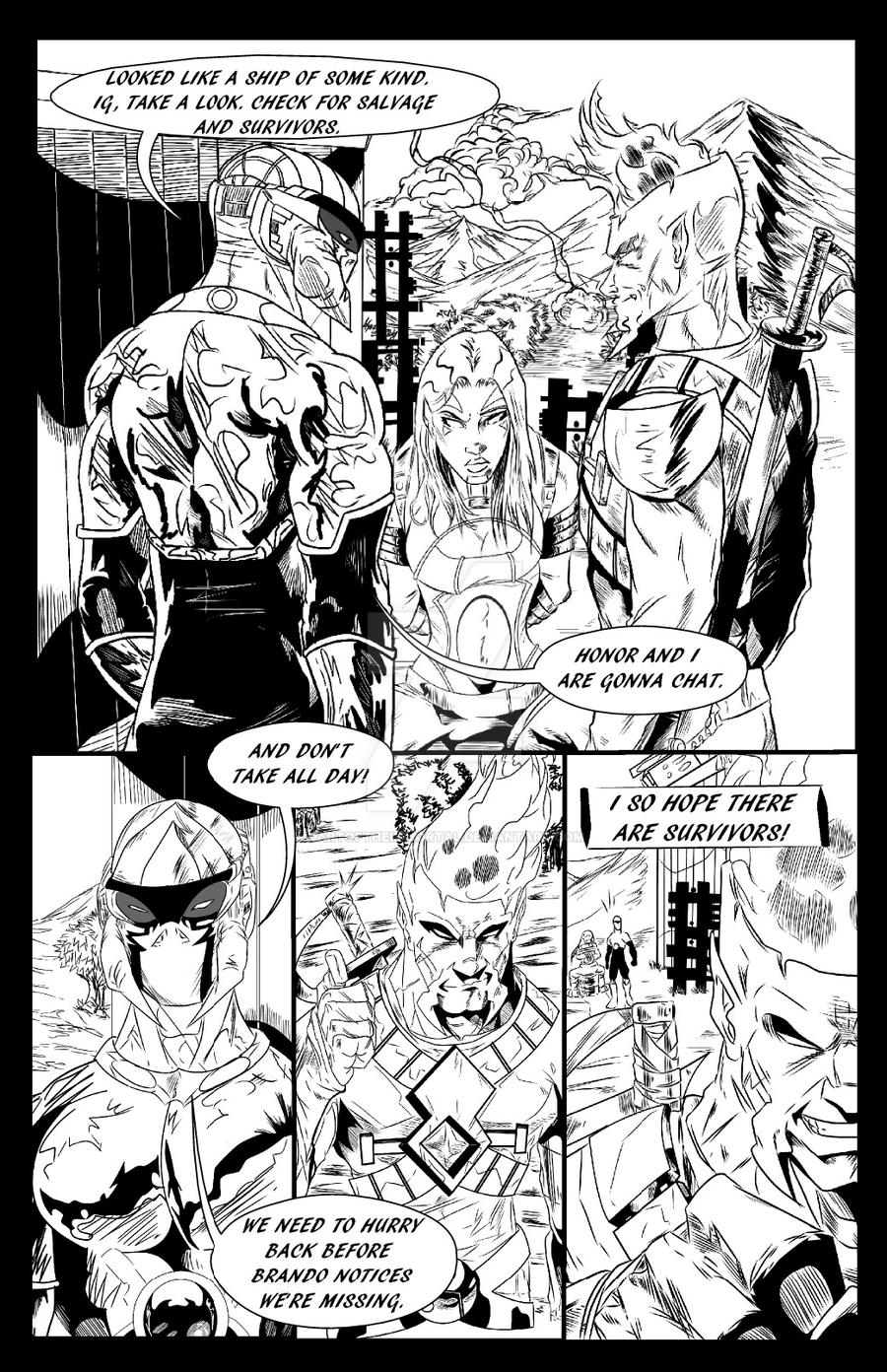 Conquest Issue 2 page 4 by artoftheimmortal