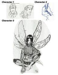 1st Challenge Characters