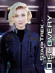 Olivia Saugn, Captain, NX-04 Discovery by Ryjuda