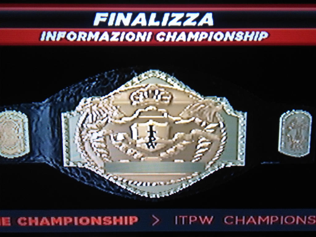 ITPW World heavyweight championship! by carminesavastano