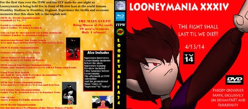 Looneymania 34 Home Video Cover