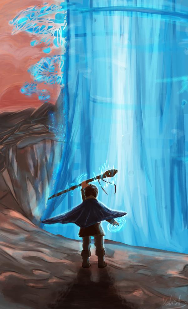 Closing the Dark Portal by xKalisto