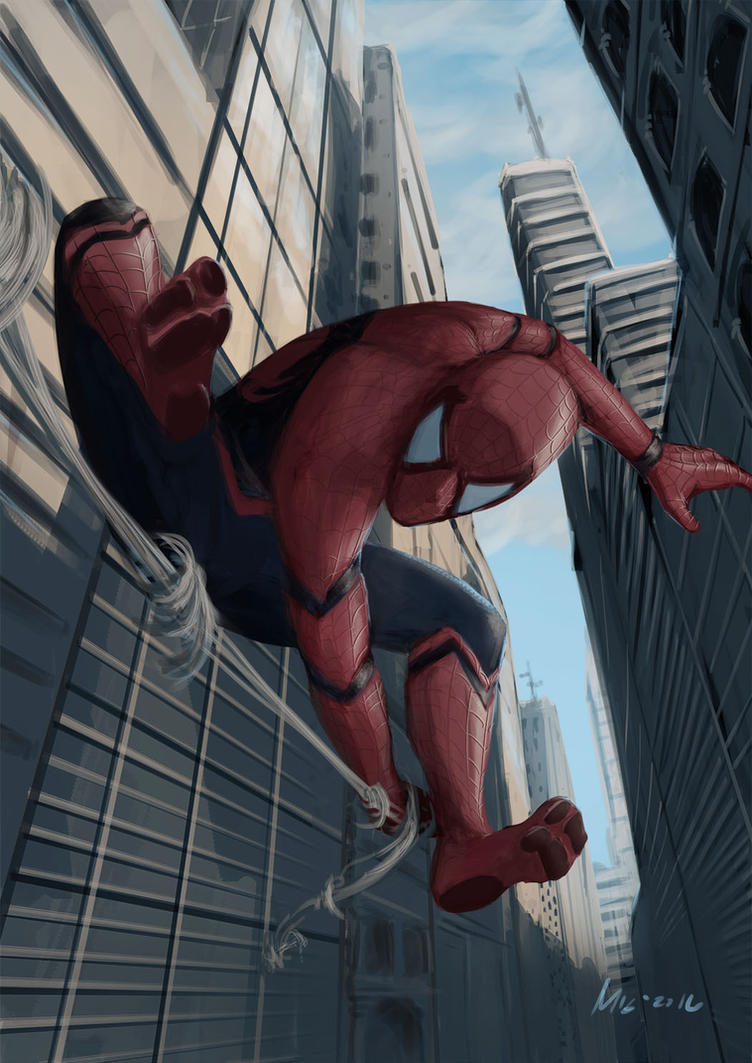 Spidey by themimig