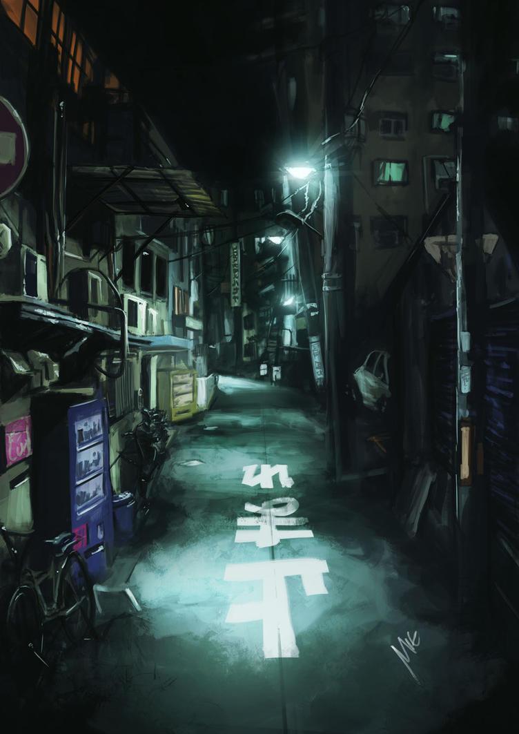 japan street by themimig
