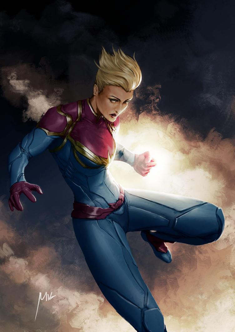 captain marvel! by themimig