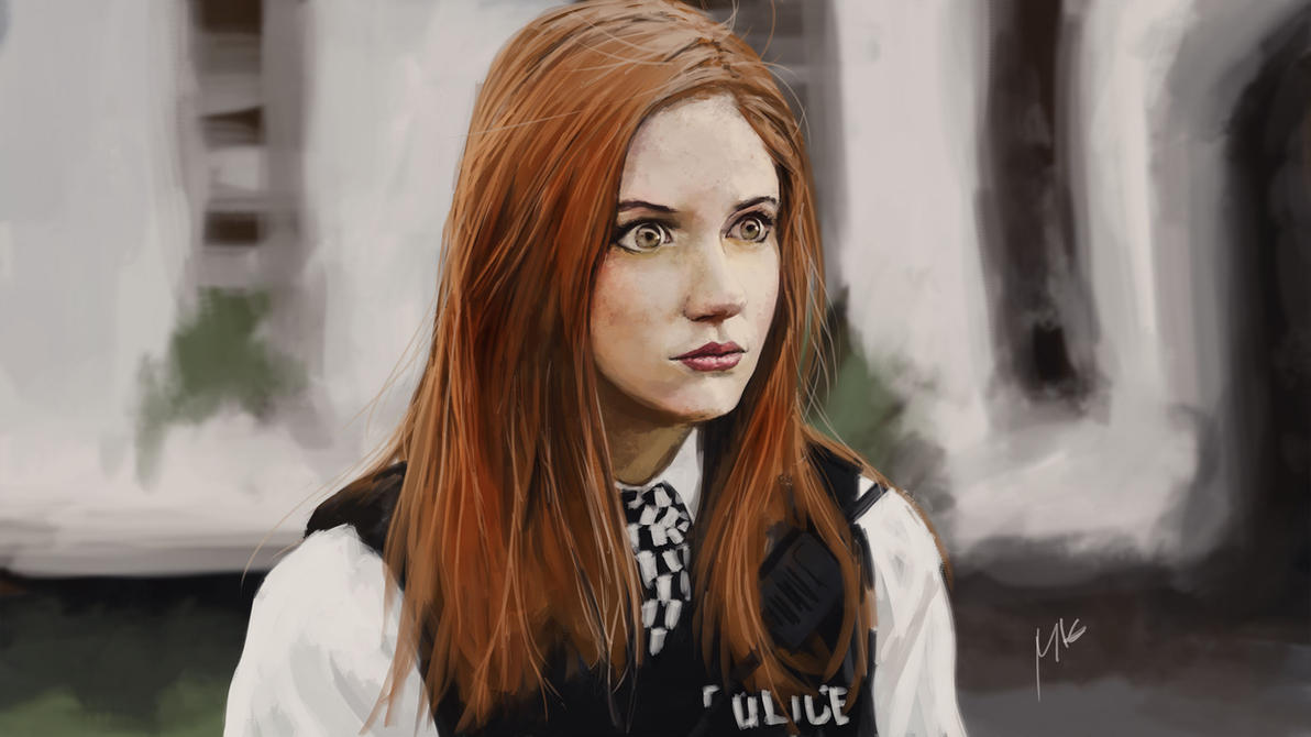 amy pond by themimig