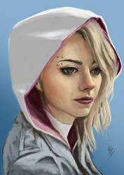 spider gwen! by themimig