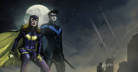 Babs And Dick by themimig