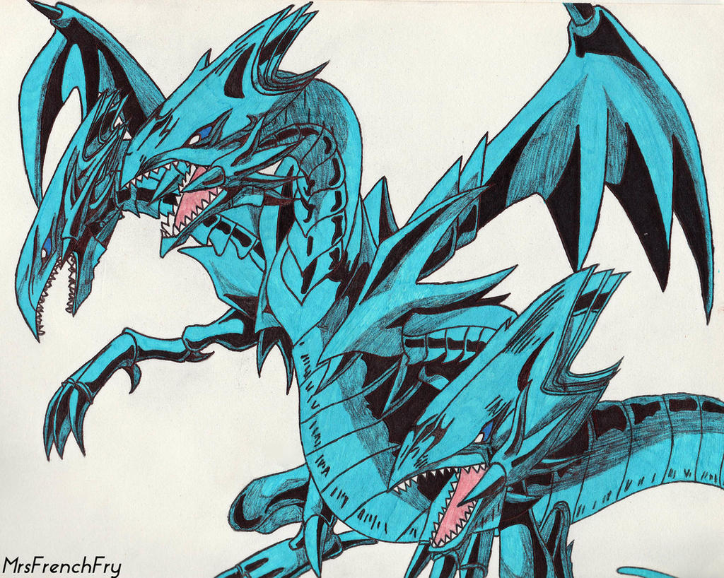 blue eyes ultimate dragon by mrsfrenchfry on deviantart