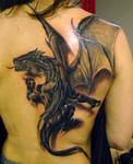 dragon tattoo by jrunin