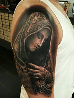virgin mary by jrunin