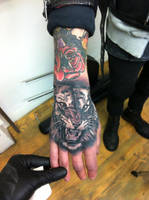 tiger tattoo by jrunin