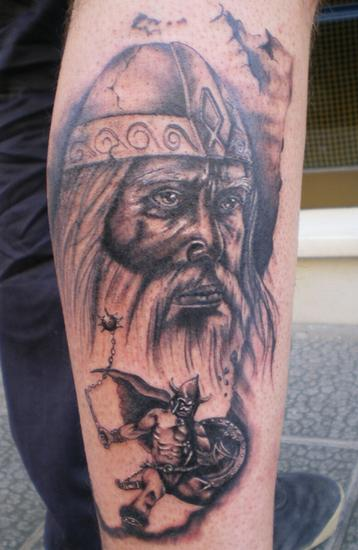 viking tattoo art Just like wearing a nice watch or jewelry, tattoos are a
