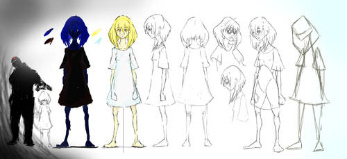 Freedom Short Animation- Concept Art- Girl by NotsoSavageMic