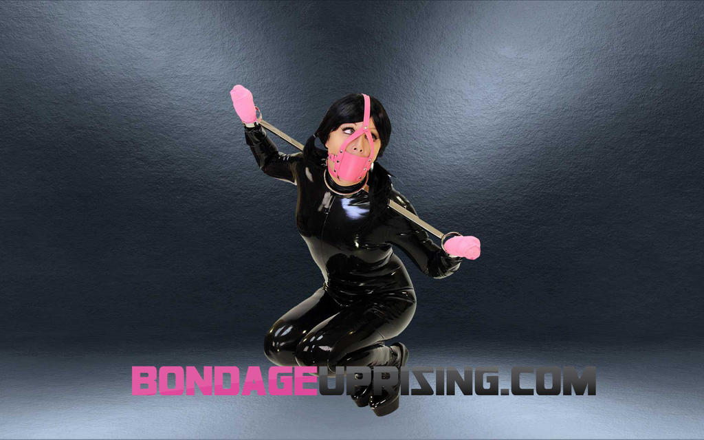 Panel Gag Trainer with Latex and Steel by subshopautumn