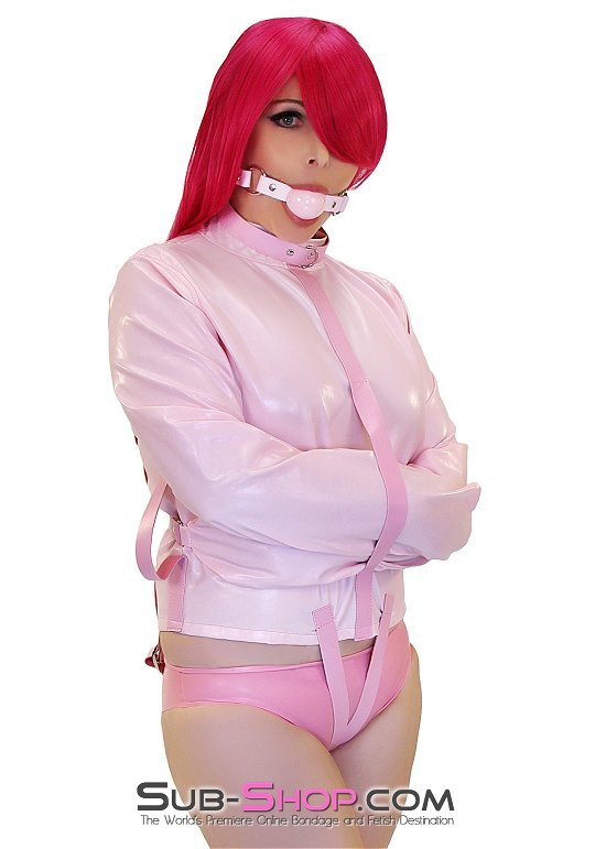 Drive Me Crazy in a Pink Straitjacket by subshopautumn