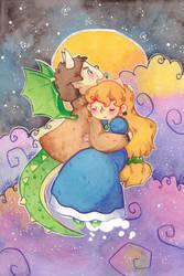 Dragon and Princess