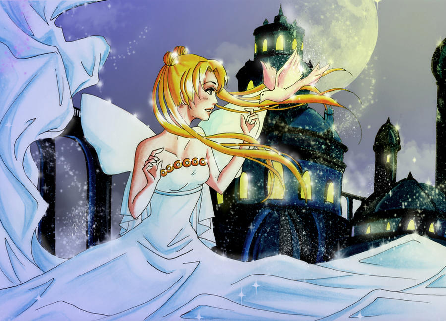 Sailor Moon- Princess Serenity by DeaDia89