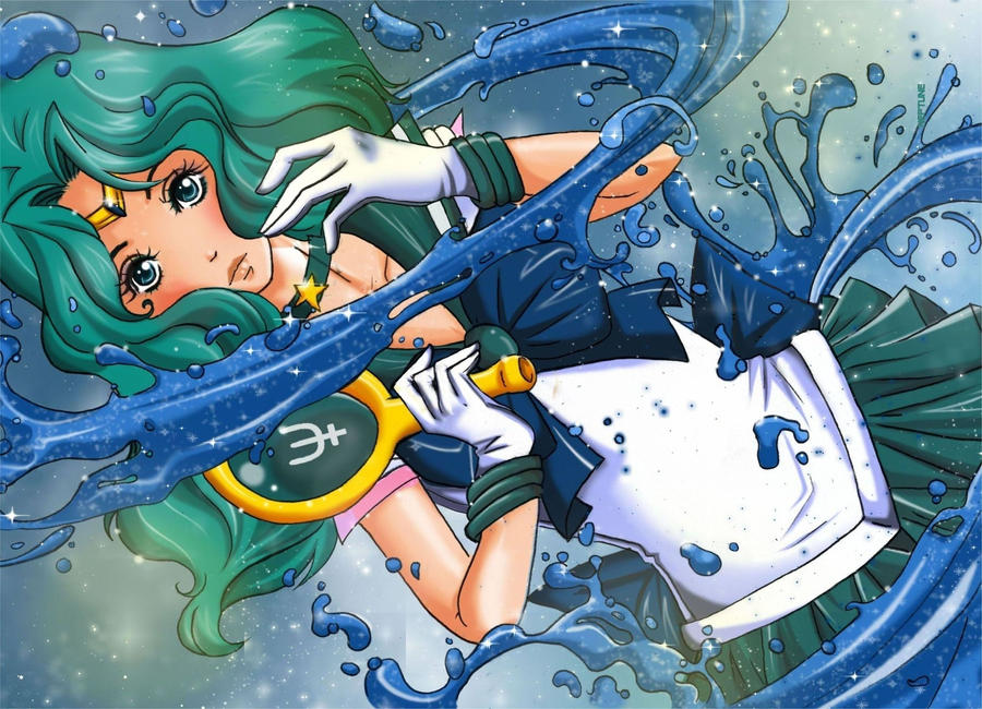 Sailor Neptune - Michiru by daadia