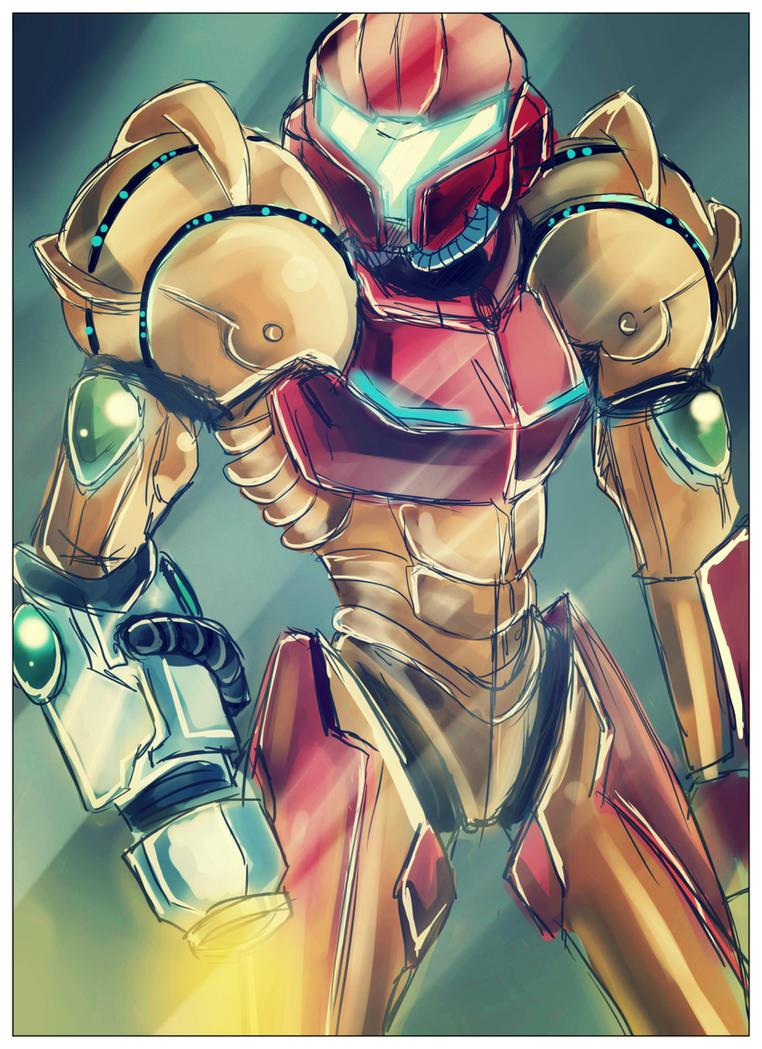 Samus Aran Varia Suit by DeaDia89