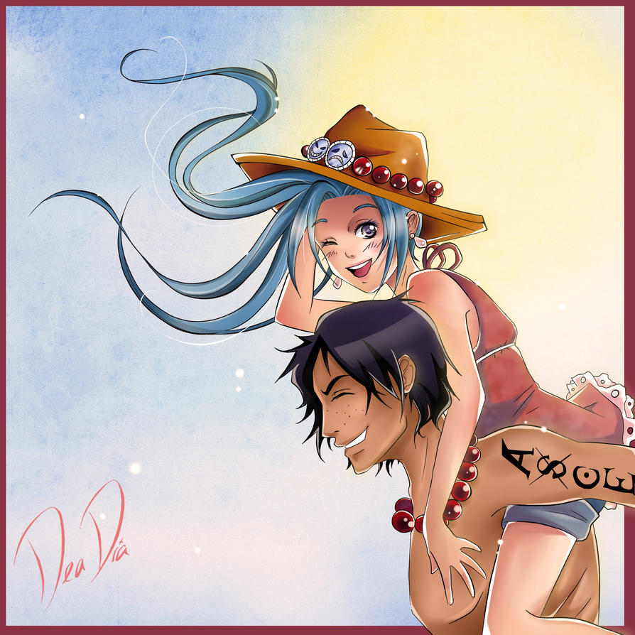 One Piece Pairing - Vivi x Ace by daadia