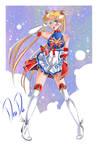 Super Sailor Moon - New Outfit design