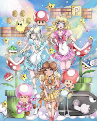 Princess Sailor Peach by daadia