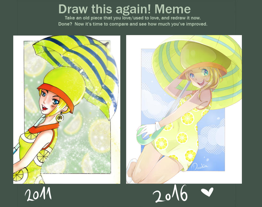 Draw Miss Valentine Again By Daadia ...