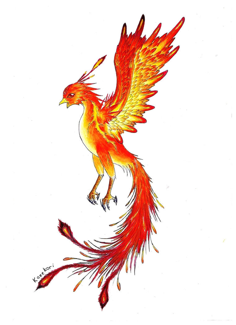 Red phoenix by kazekori on deviantart red phoenix by kazekori voltagebd Choice Image