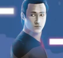 Data from Star Trek by HenryTownsend