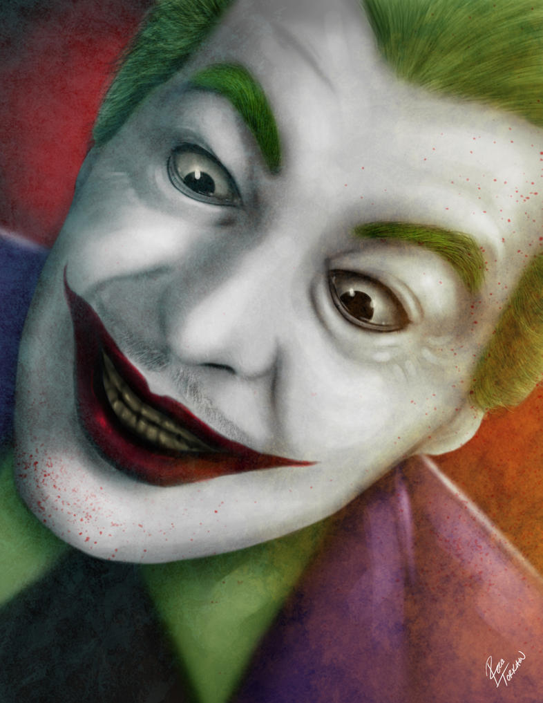 Romero's The Joker by HenryTownsend