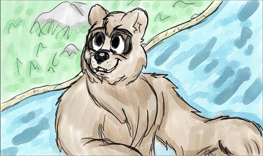 Bernard The Bear By Kabuki-Sohma On DeviantArt