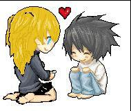 Death Note L And Misa Edit by Kabuki-Sohma