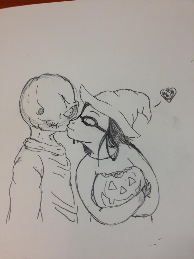 Jack-O-Lantern: You're My Favorite by Kabuki-Sohma
