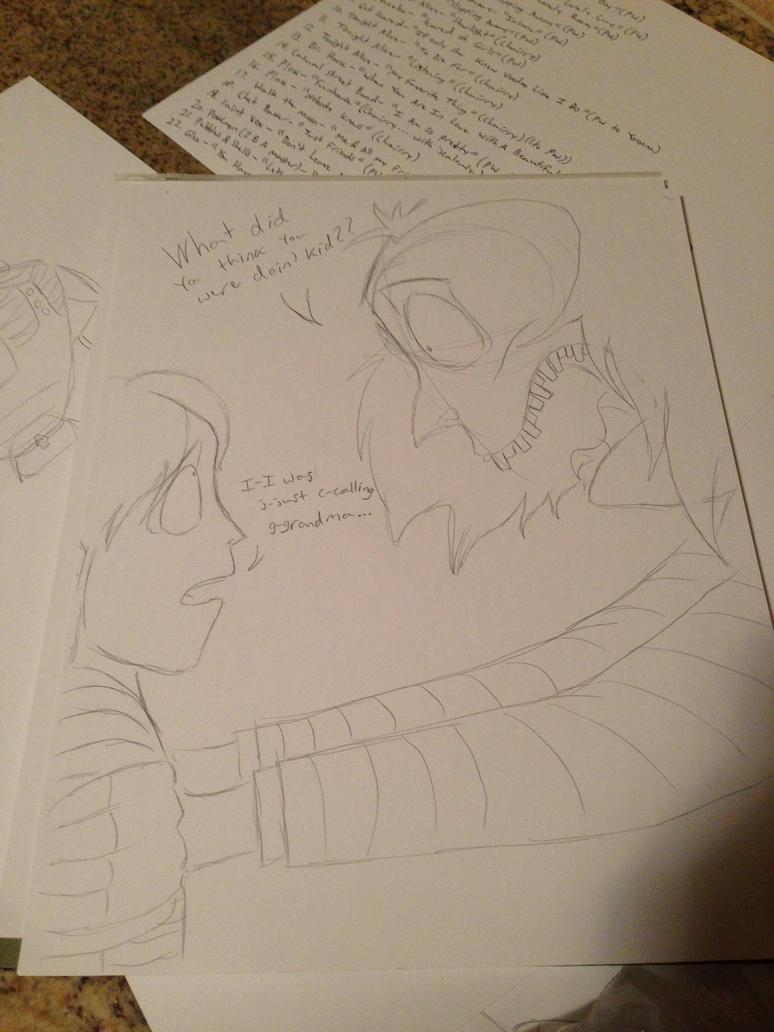 Beetlejuice- Beatto Called Grandma... by Kabuki-Sohma