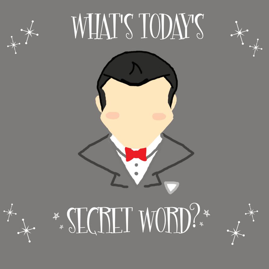 Pee-Wee Herman Poster- Secret Word by Kabuki-Sohma