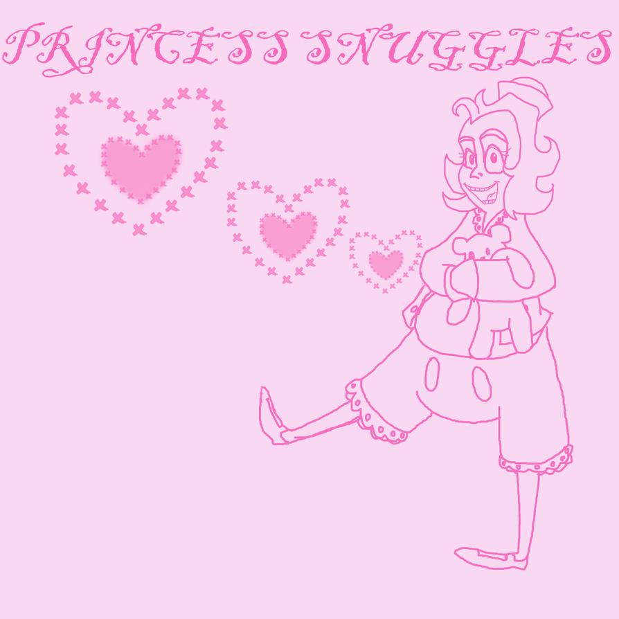 Princess Snuggles by Kabuki-Sohma