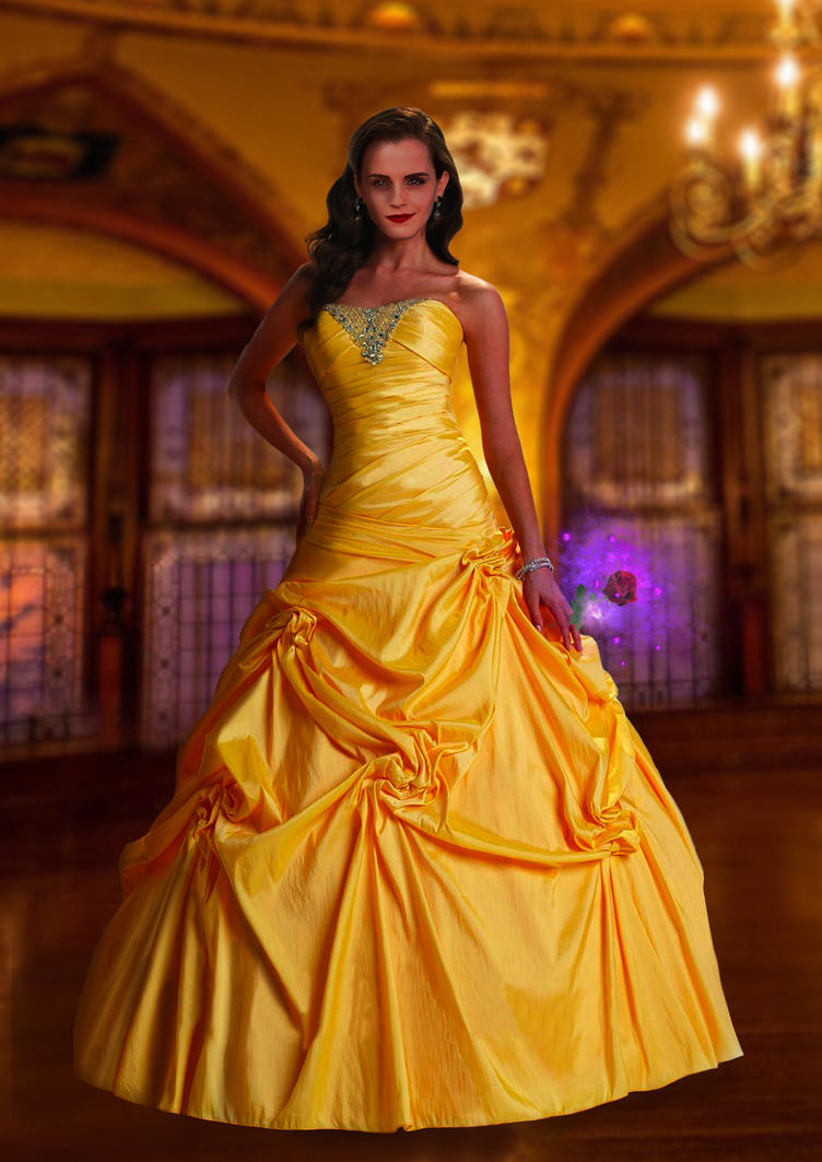Beauty And The Beast Belle By Linuch