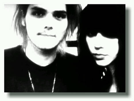Gerard Way and I in BLW