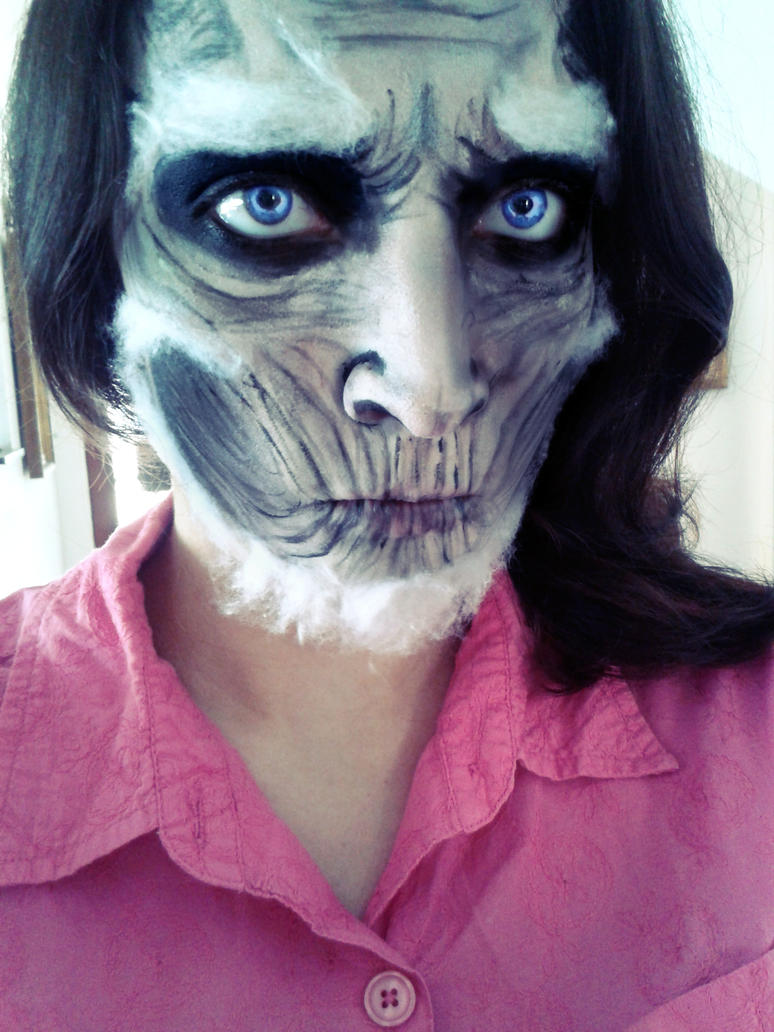 White Walker Makeup Game Of Thrones by hillasaur